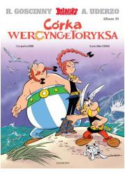 Córka Wercyngetoryksa. Asteriks. - okładka książki