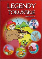 Legendy toruńskie wierszem - okładka książki