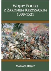 Wojny Polski z zakonem krzyżackim - okładka książki