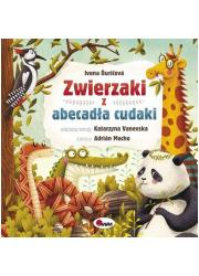 Zwierzaki z abecadła cudaki - okładka książki