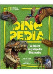 Dinopedia. Najlepsza encyklopedia - okładka książki