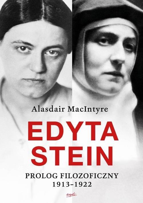 Edyta Stein. Prolog filozoficzny - okładka książki
