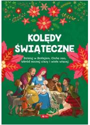 Kolędy świąteczne - okładka książki