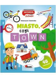 Miasto czyli town - okładka książki