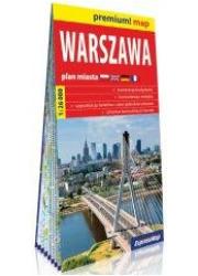 Warszawa 1:26 000 plan miasta - okładka książki