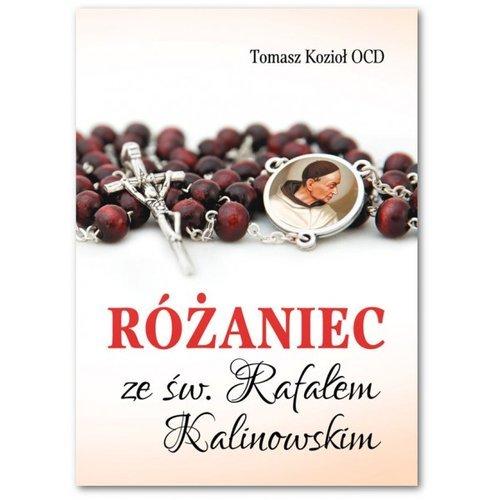 Różaniec ze św. Rafałem Kalinowskim - okładka książki