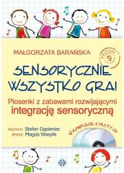 Sensorycznie wszystko gra! Książka - okładka książki