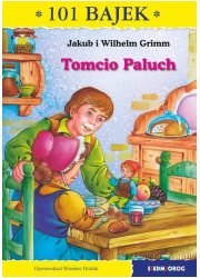 Tomcio paluch. 101 bajek - okładka książki