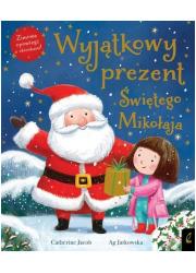 Wyjątkowy prezent Świętego Mikołaja - okładka książki