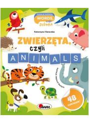 Zwierzęta czyli animals - okładka książki