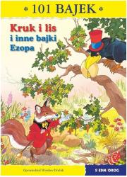 Kruk i lis. 101 bajek - okładka książki