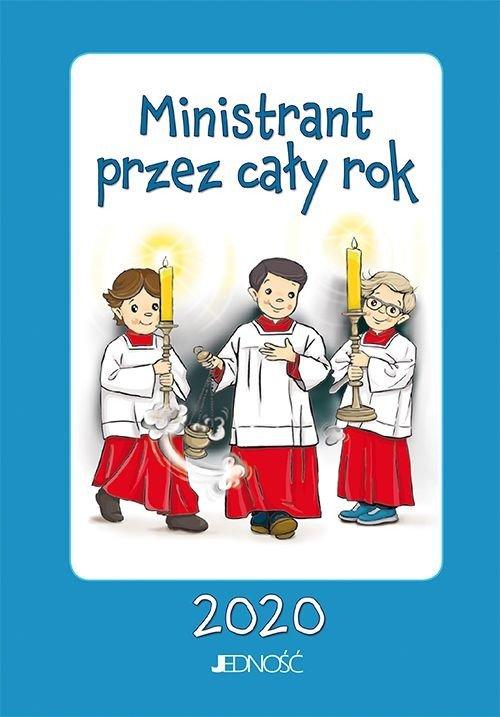 Ministrant przez cały rok 2020 - okładka książki