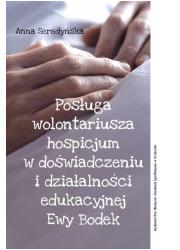 Posługa wolontariusza hospicjum - okładka książki