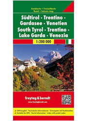 Sudtirol trentino gardasee venetien - okładka książki
