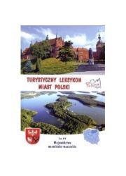 Turystyczny leksykon miast Polski. - okładka książki