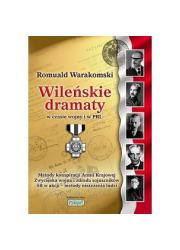 Wileńskie dramaty w czasie wojny - okładka książki