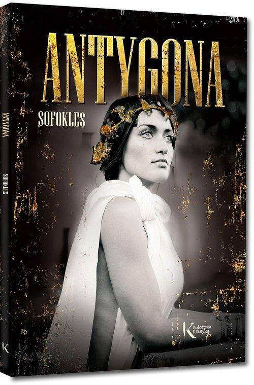 Antygona - okładka książki