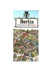 Berlin. Plan miasta. Panorama - okładka książki