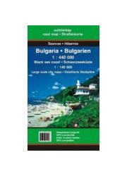 Bułgaria 1 : 440000 Mapa samochodowa - okładka książki
