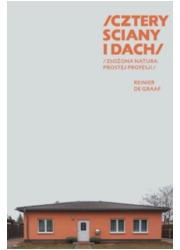 Cztery ściany i dach - okładka książki