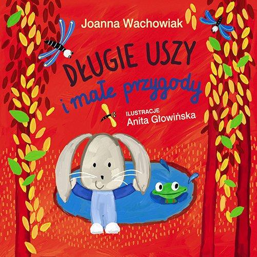 Długie Uszy i małe przygody - okładka książki