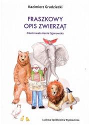 Fraszkowy opis zwierząt - okładka książki