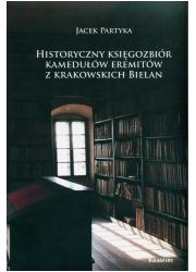 Historyczny księgozbiór kamedułów - okładka książki