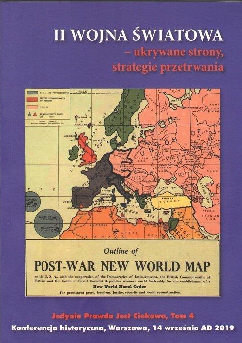 II wojna światowa ukrywane strony - okładka książki
