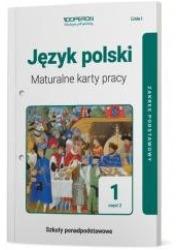 Język polski. Liceum 1. Maturalne - okładka podręcznika