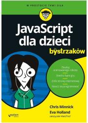 JavaScript dla dzieci dla bystrzaków. - okładka książki