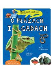 Marcin Gorazdowski opowiada o płazach - okładka książki