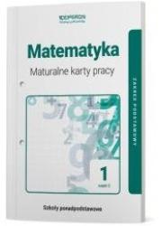 Matematyka. Liceum 1. Maturalne - okładka podręcznika