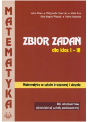 Matematyka Zbiór zadań dla klas - okładka podręcznika