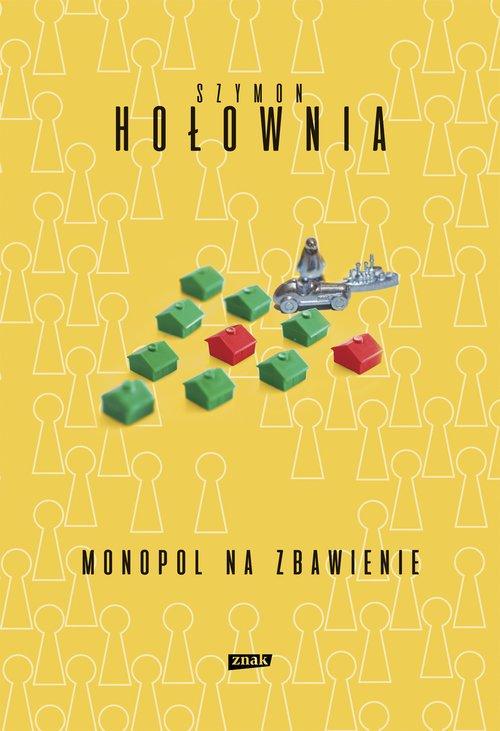 Monopol na zbawienie - okładka książki