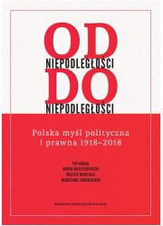 Od niepodległości do niepodległości. - okładka książki