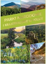 Parki narodowe i krajobrazowe w - okładka książki