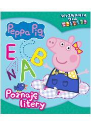 Peppa Pig. Wyzwania dla malucha. - okładka książki