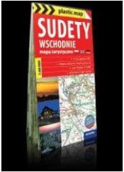 plastic map Sudety Wschodnie 1:60 - okładka książki