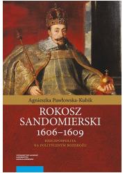 Rokosz sandomierski 1606-1609 - okładka książki
