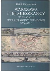 Warszawa i jej mieszkańcy w czasach - okładka książki