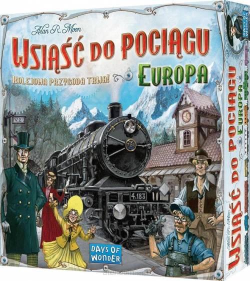 Wsiąść do pociągu: Europa REBEL - zdjęcie zabawki, gry