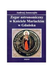 Zegar astronomiczny w Kościele - okładka książki