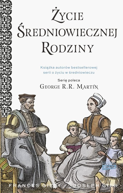 Życie średniowiecznej rodziny - okładka książki