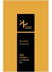Żydzi w Polsce i w Tatrach też - okładka książki