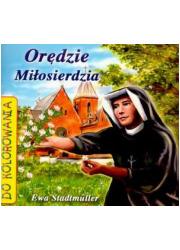 Orędzie Miłosierdzia (do kolorowania) - okładka książki