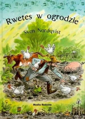 Rwetes w ogrodzie - okładka książki
