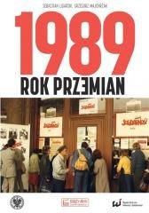 1989. Rok przemian - okładka książki