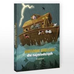 Historie biblijne dla najmłodszych. - okładka książki