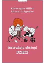 Instrukcja obsługi dzieci - okładka książki