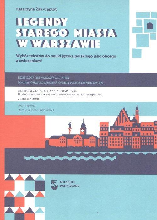 Legendy Starego Miasta w Warszawie - okładka książki